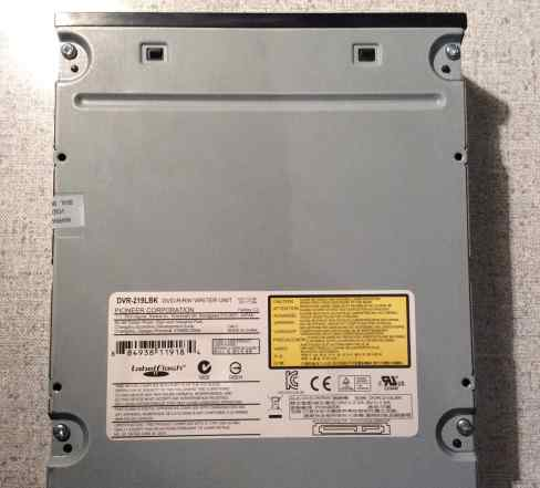 DVD RW SATA оптический привод Pioneer чёрный