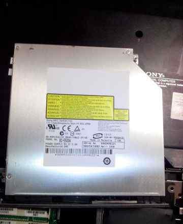 Blu-ray привод для ноутбука BD-ROM/DVD/CD RW б/у