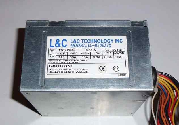 Блок Питания L C 300W Рабочий