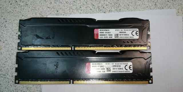 DDR3 Kingston HyperX 8Gb 1866/1600