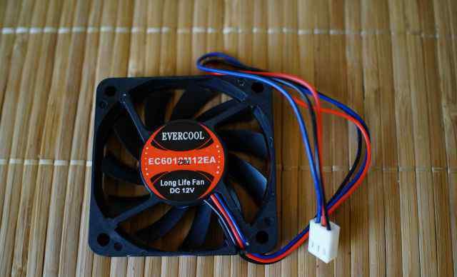 Вентиляторы корпуса Coolertec-Evercool EC6010M12EA
