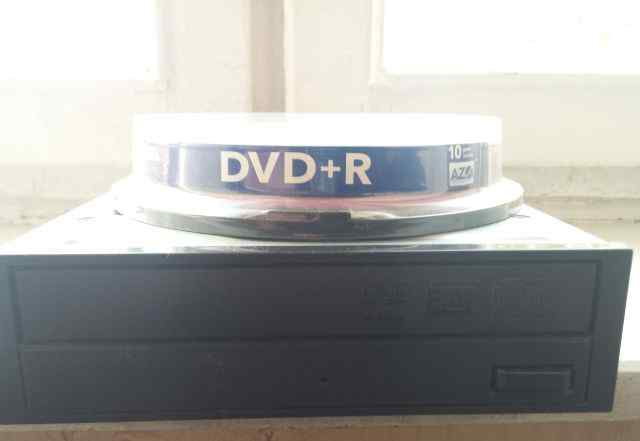 DVD RW Nec IDE плюс 10шт dvdr болванок