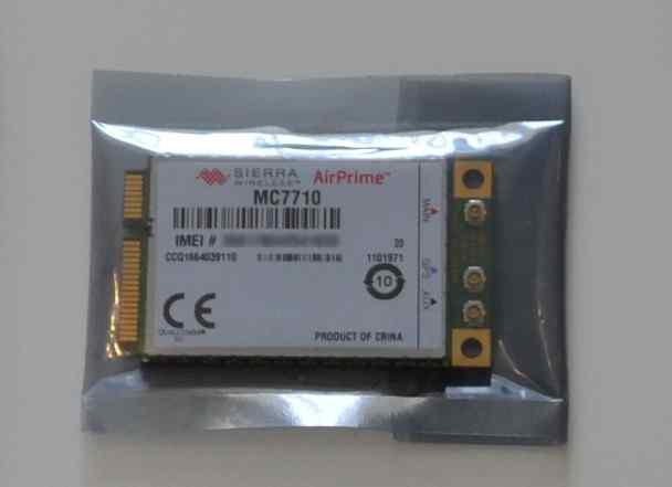 Новый модем Sierra MC7710 для сетей 3G/4G с GPS