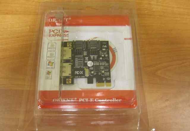 Контроллер SATA + e-SATA orient A1061S (PCI-E x1)