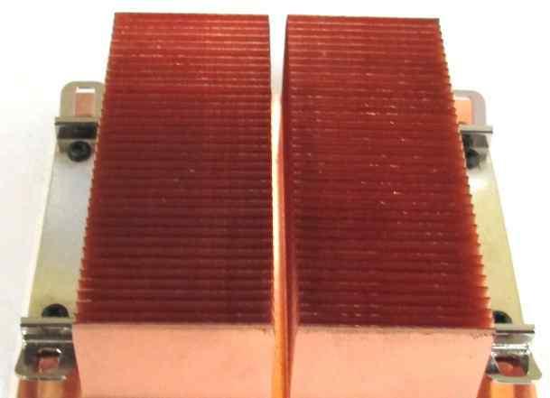 Медный радиатор для процессора