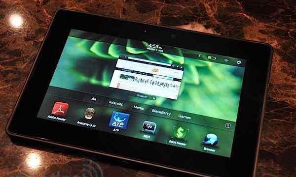 Blackberry Playbook 16G, Wi-Fi + чехол