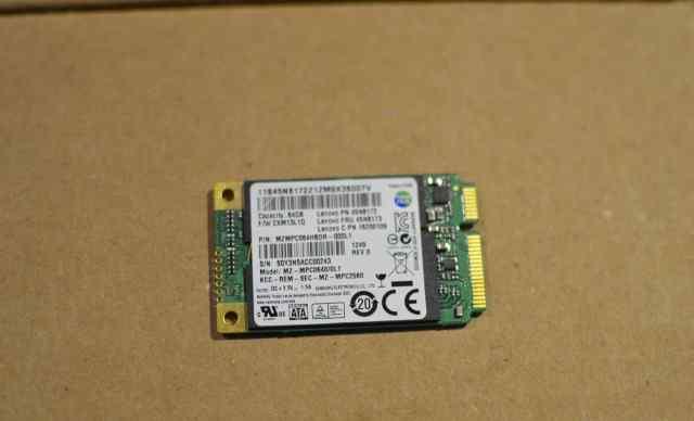 Samsung SSD 830 Series 64 Гб msata