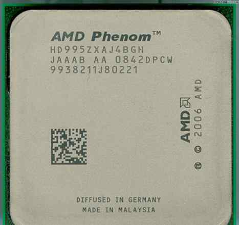 Phenom X4 9950 2.6GHz 140W rev. B3 SocketAM2+
