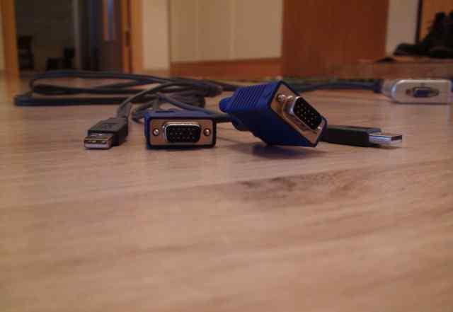 Defender kvm switch, переключатель для компьютеров