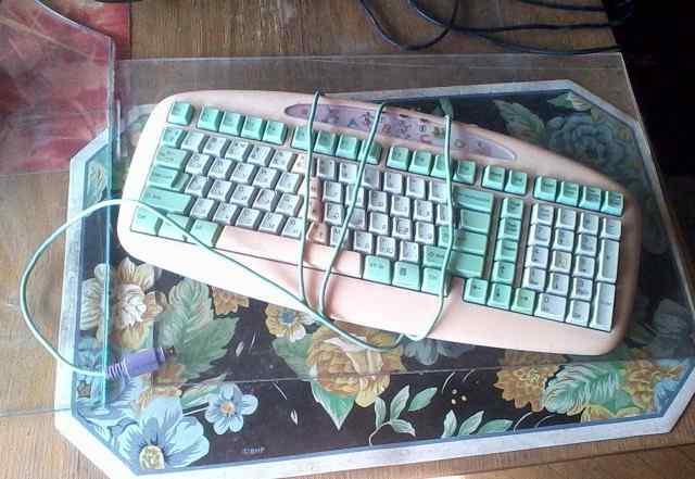 Комплект клавиатура с мышкой детская