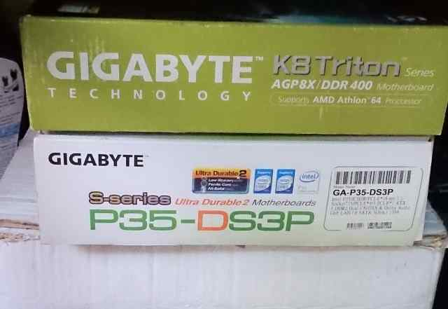 Материнская плата Gigabyte P35-ds3p