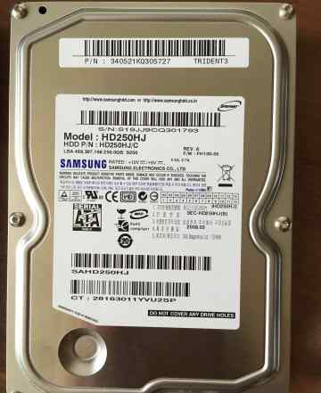 HDD Samsung 250 Gb SATA