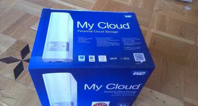 Western Digital My Cloud 3 TB, жесткий диск на 3 т