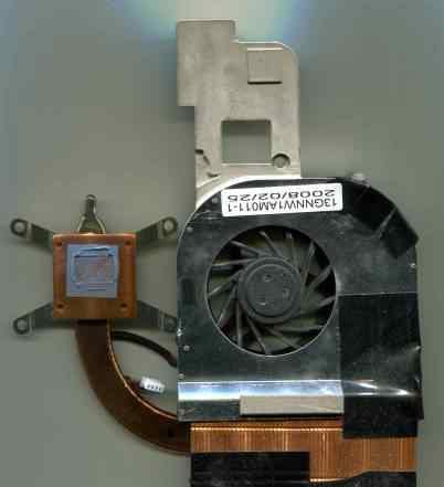 Система охлаждения ноутбука Asus Z99