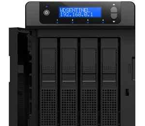 Сервер хранения WD Sentinel DX4000 (12Тб) (NAS)