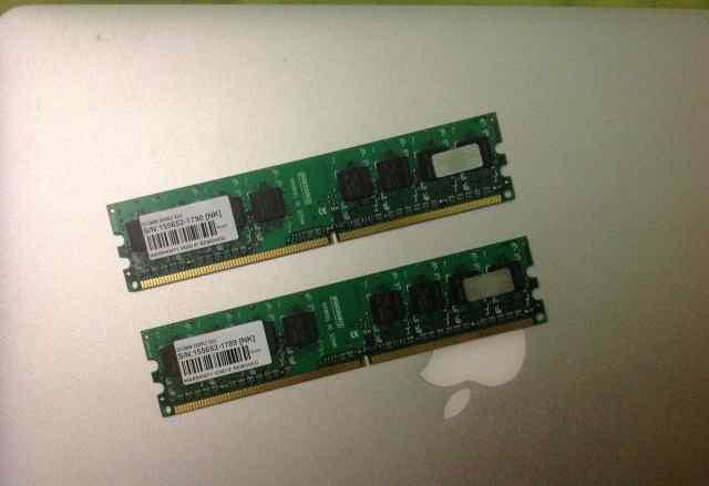 Модули Transcend DDR2-533
