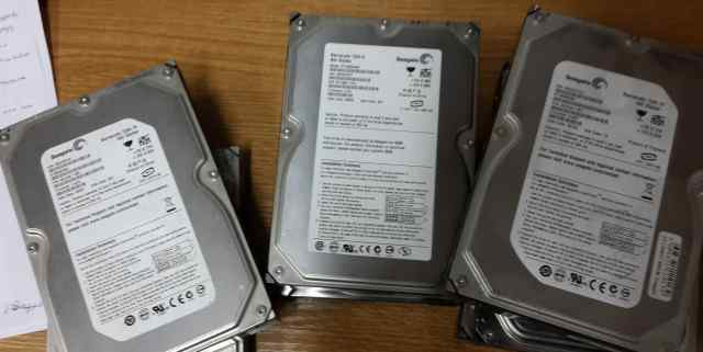 Нерабочие жесткие диски Seagate 400 - 500gb