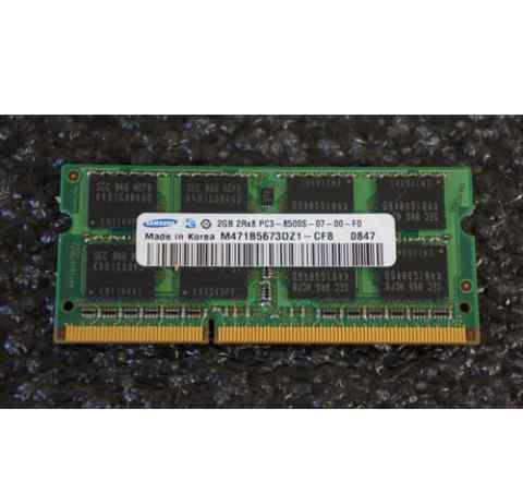 Оперативная память Samsung SO-dimm DDR3 PC3-8500 2