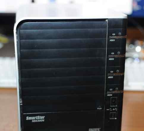 Сервер сетевое хранилище Promise SmartStor NS4300N