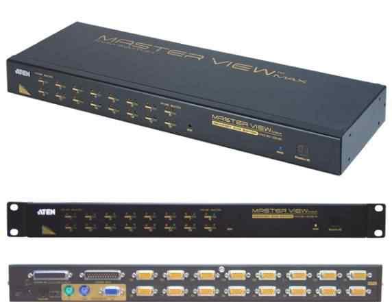 Восьмипортовый KVM-переключатель Aten ACS-1208A