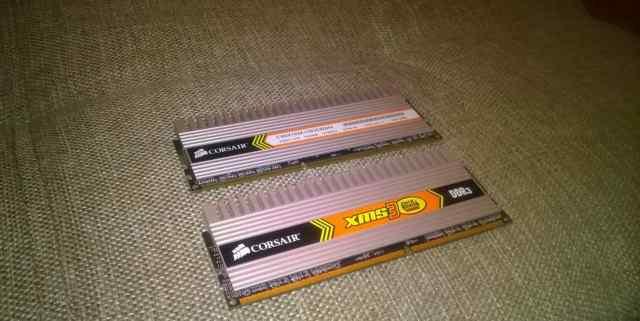 Corsair DDR3 1333 1GB с радиаторами