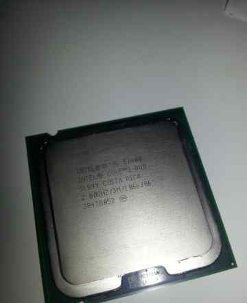 Core 2 duo E7400 2.8 GHZ