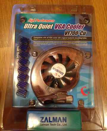Новый Zalman VF700-Cu Ultra Quiet VGA Cooler