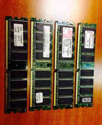 Память DDR 512Mb PC3200 (400Mhz)