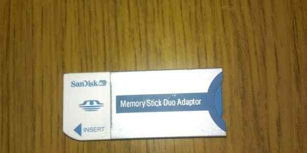 Переходник Memory Stick Duo Adaptor Sandisk