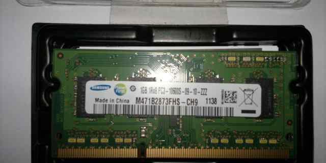 Samsung DDR3 1333 SO-dimm 1Gb