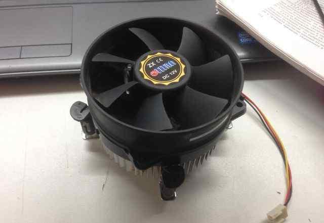 Кулер+ радиатор Titan ZX сокет 775