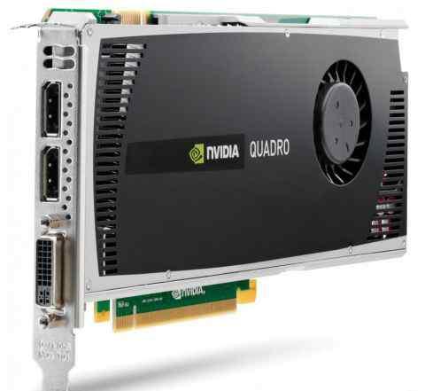 Quadro 4000 Профессиональная видеокарта