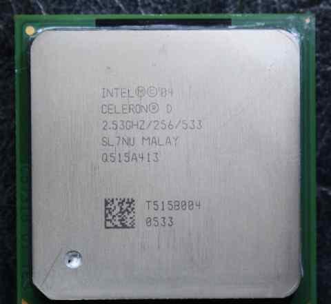 Процессоры Intel Celeron Socket 478