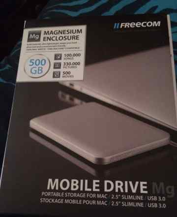Продаю жд Freecom mobile drive Mg 500 gb