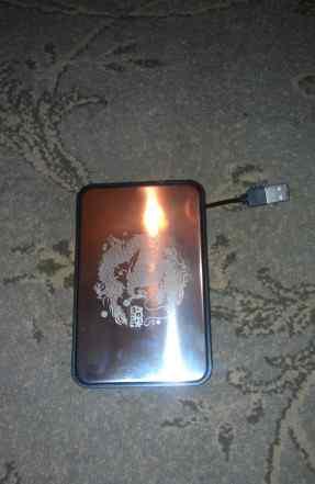 Жёсткий диск переносной новый 250 Гб