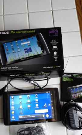 Archos Internet tablet 70 250 Гб