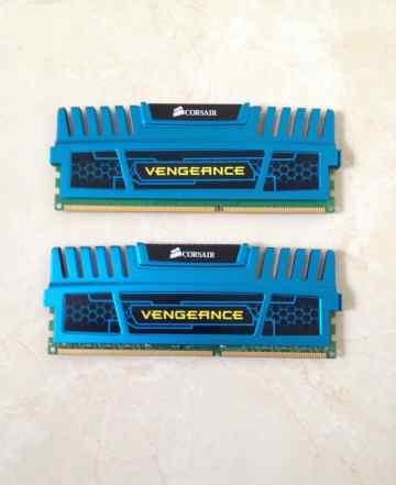 Память Corsair DDR3-1600Mh 8Gb(2x4)