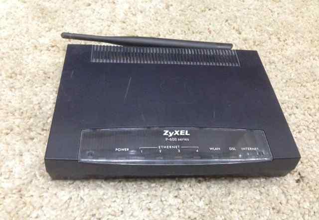 Adsl Роутер Zyxel P-660HTW2 EE