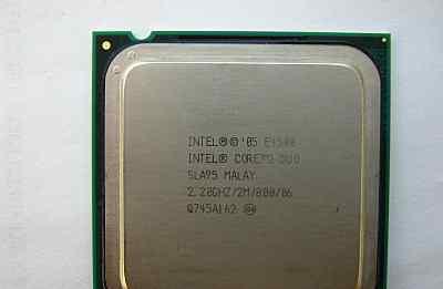 Процессор Intel Core 2 Duo E4500 SLA95