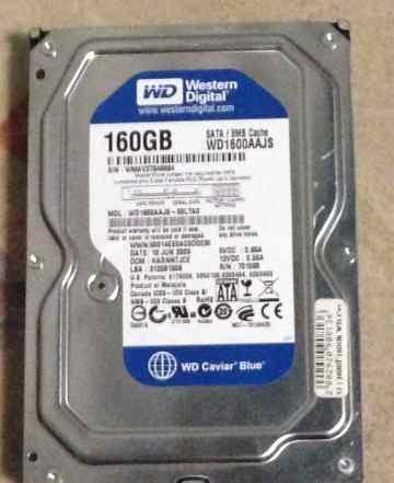 Жёсткие диски WD 160Gb