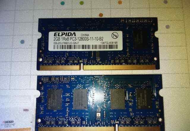 Оперативная память для Macbook/iMac SO-dimm