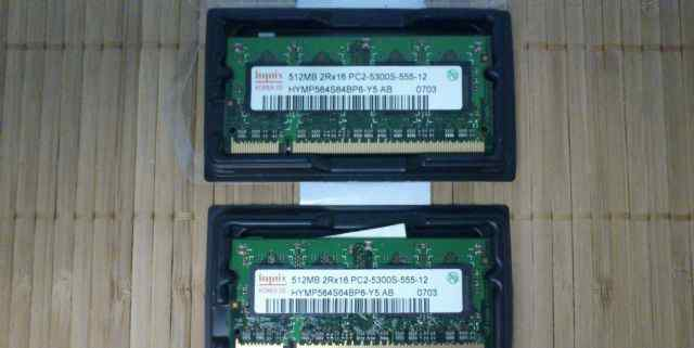 SO-dimm DDR2 512Mb