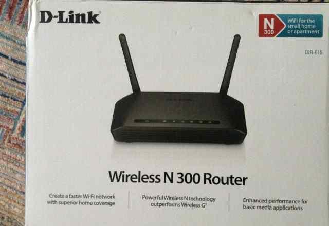 Wi-Fi роутер новый D-Link