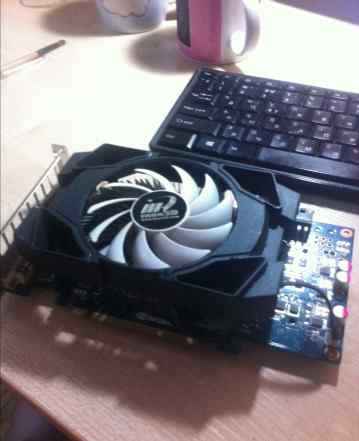Nvidia GeForce Inno 3D GTX 460 SE-Green-DVI