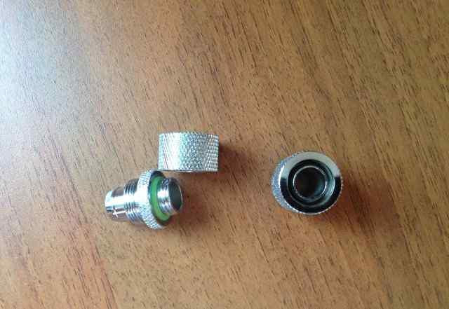Компрессионный фитинг 12/14 мм barrow (никель)