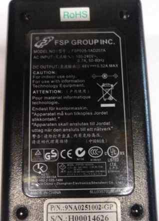 FSP FSP025-1AD207A 48V 0.52A 25W