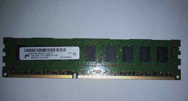 Память DDR PC3-10600 ECC U-dimm