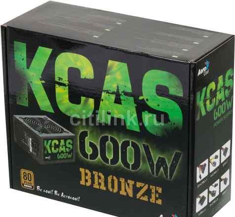 Блок питания kcas 600w