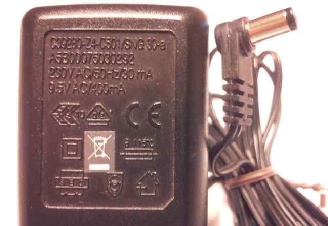 Блок питания AC adaptor 9.5V