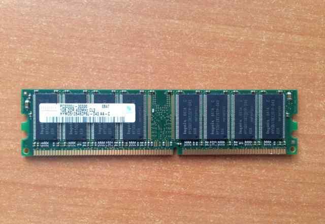 Модуль памяти Hynix dimm DDR 3200 1Gb